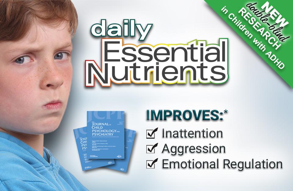 double blind adhd research, adhd micronutrients, natural adhd, adhd vitamin, adhd minerals